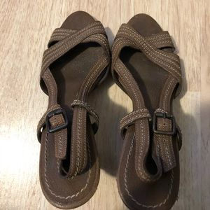 Banana Republic heeled sandals